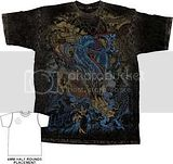 MIAMI INK LAST DRAGON MENS PREMIUM WASHED TEE